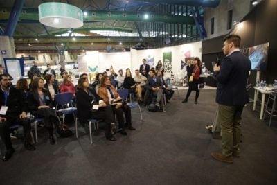 Conferencia durante la celebración de Transfiere