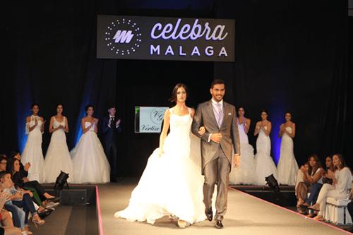 Pasarela de novias en la feria Celebra málaga de Fycma