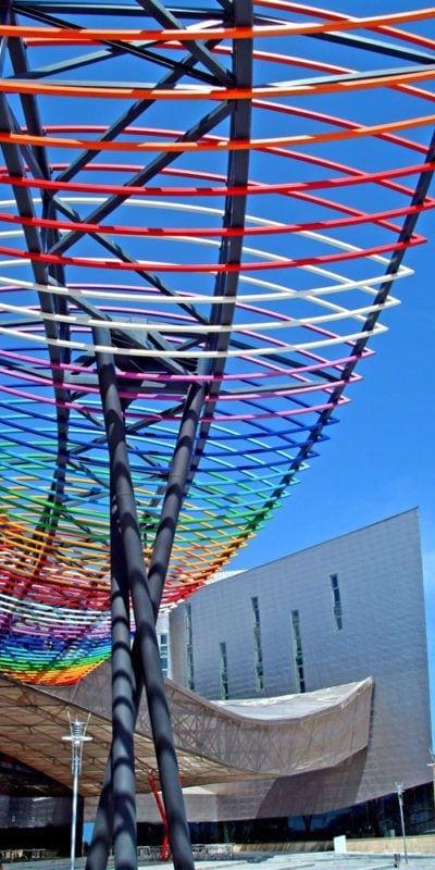 Entremado metálico de colores Fycma