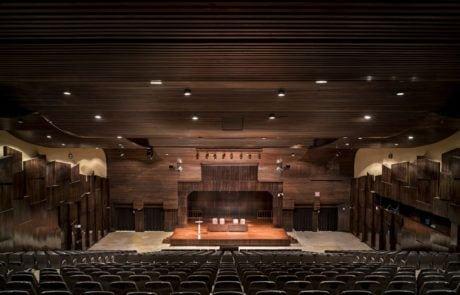 Vista superior panorámica auditorio 1 de Fycma