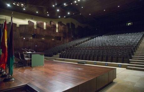 Vista desde la tarima del auditorio 1