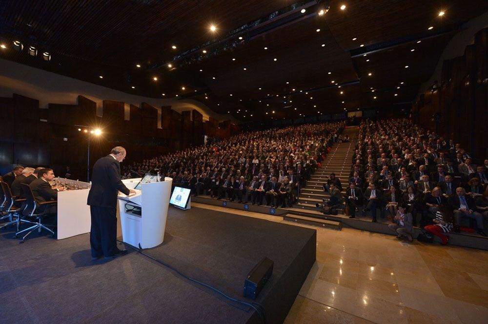 Discruso del alcalde de Málaga en el Auditorio 1 de Fycma