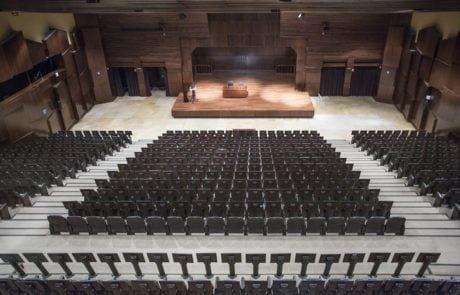 Panorámica desde el fonde del auditorio 2 de Fycma