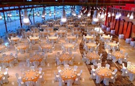 Cena en sala polivalente de Fycma