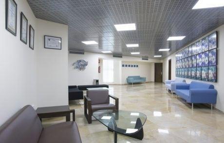 Hall de la sala VIP de Fycma