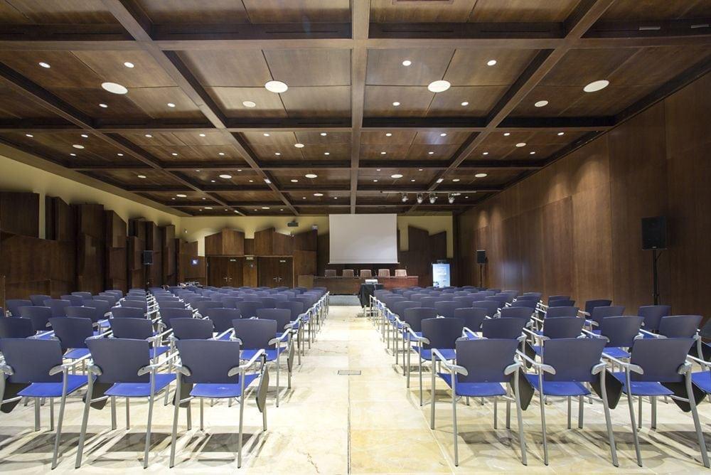 Sala de conferencias 2 de Fycma, vista trasera