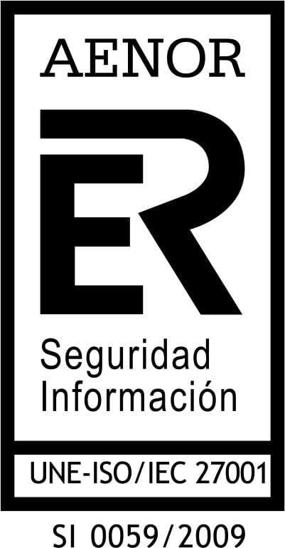 Logo ISO 27001 Seguridad de la Información