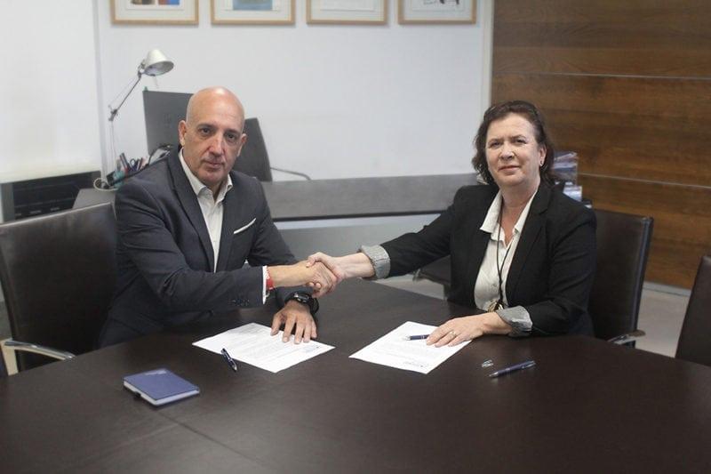 Noriega y De Aguilar firman el convenio de colaboración de S-Moving y CMMA
