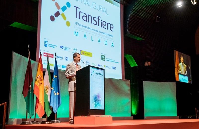 Discurso inauguración feria Transfiere 2018 por Su Majestad el Rey Felipe VI