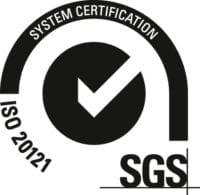 Logo ISO 20121 Sistemas de Gestión de Sostenibilidad en Eventos