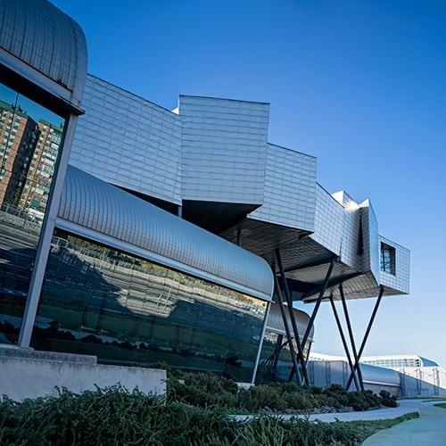 Plano detalle arquitectónico edifico Fycma