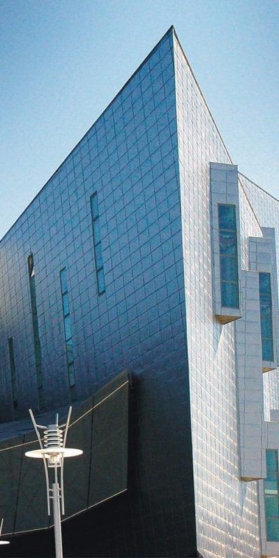 Plano detalle edificio Fycma