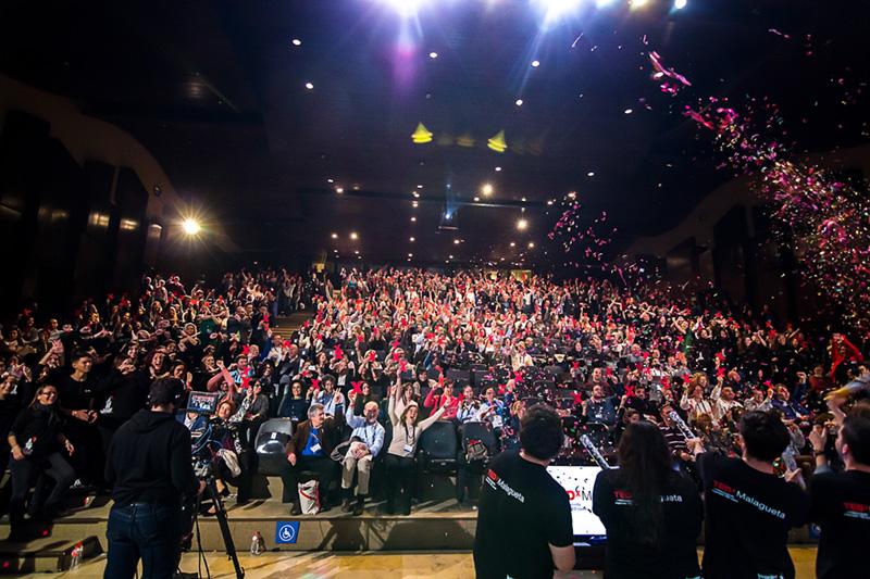 Foto auditorio TEDxMálaga
