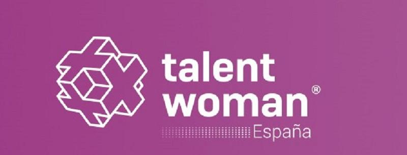 Talent Woman logo fondo rosa