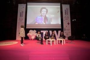 Homenaje a Margarita Salas en Talent Woman España 2018