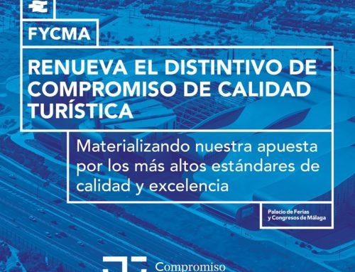 FYCMA renueva la distinción de 'Compromiso de Calidad Turística'