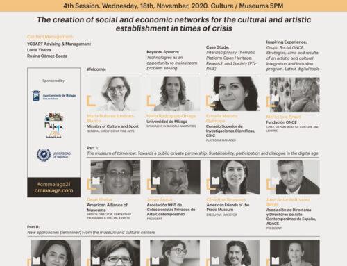 Creación de redes de apoyo al ámbito cultural y artístico en CM Málaga