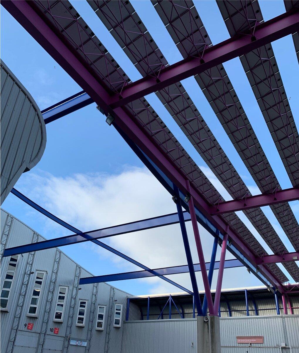 Planta fotovoltaica FYCMA