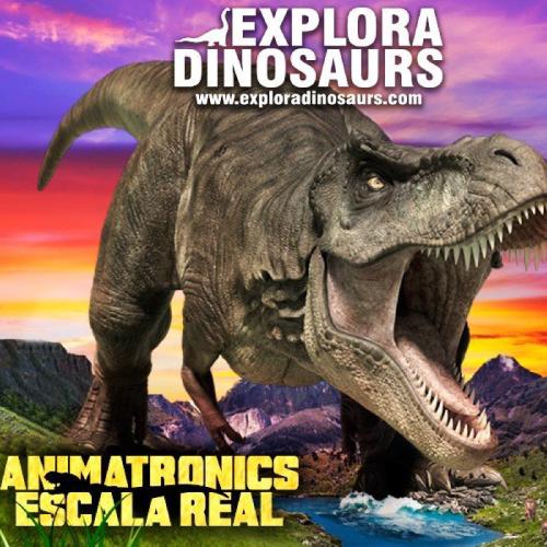 Cartel-Explora-Dinosaurs
