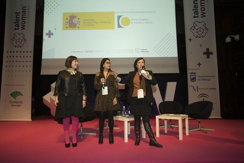 De Aguilar durante el acto de inauguración de la primera edición de Talent Woman_Web