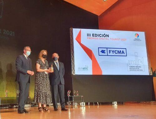 AMETIC premia a FYCMA por su protocolo sanitario y la apuesta por la digitalización
