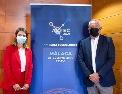 La XIV Feria Aotec reunirá en Málaga lo último en telecomunicaciones para la España vaciada